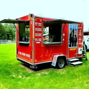 2003 12 L X 6 W X 8 H Food Concession Trailer For Sale In Vermont