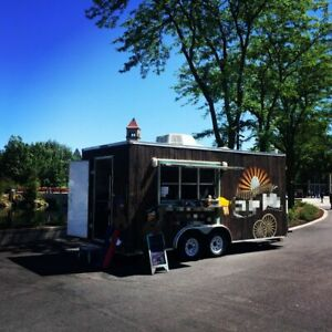 2016 8 5 X 18 Lark Mobile Kitchen Food Concession Trailer For Sale In Montana