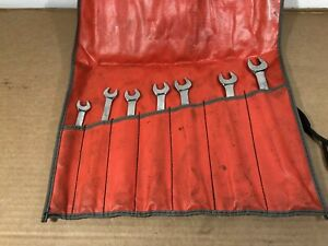 Snap On Tools 7pc Metric Wrench Set 10 17mm Flank Drive Plus Soexm 10mm 17mm