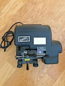 Curtis 1100a Manual Key Cutter Duplicator 1100a Perfect Working Order Light Use