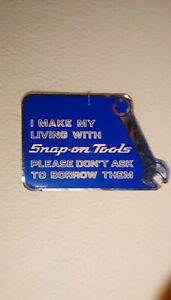 New Vintage Snap on Tools Tool Box Sticker Decal Man Cave Garage Auto Muscle Car