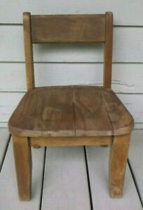 Antique Child S Side Chair
