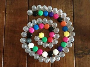 25 1 1 Empty Capsules Vending Candy Bulk Toys Gift Party Favor Acorn 1 Inch
