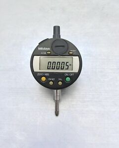 Mitutoyo 543 272b Digimatic Digital Indicator 0005 Calibrated warranty battery