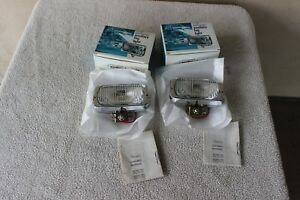 Vintage Sears Roebuck Auxiliary Fog Driving Light Set Nos 12v 55710 New In Box