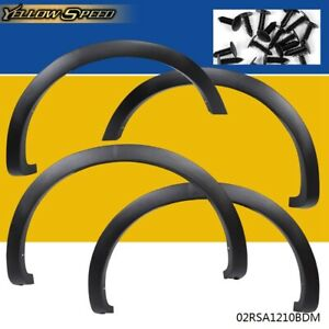 Factory Style Fender Flares Wheel Protector Matte Black For 2004 2008 Ford F150