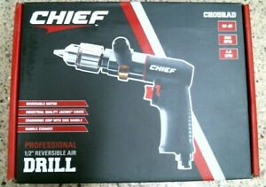 Brand New Chief Professional 1 2 Reversible Air Drill Ch05rad