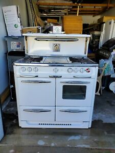 Antique Early 1950 S Wedgewood Gas Stove Oven Unfinished Needs Restoring