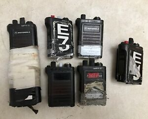 Lot Of 6 Motorola Saber 1e Handheld Radios