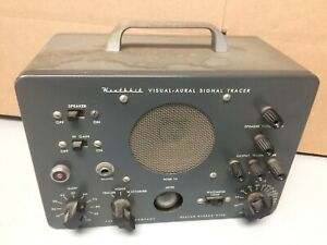 Heathkit Original T 3 Visual aural Signal Tracer Untested Sold As Is For Parts