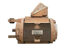 General Electric 30hp Ac Electric Motor 230 460v 3 Phases