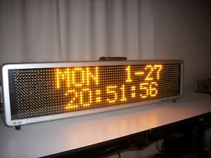 Signtronix Led 40 Programmable Message Sign