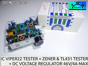 Viper22 Series Ic Chip Tester Pwm test22 Zener Tvs Tl431 Tester