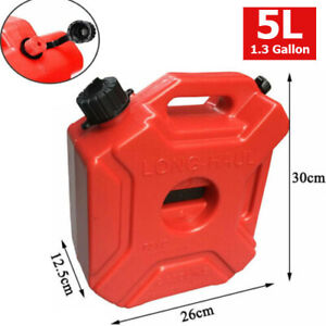 Portable 5l Plastic Can Gas Petrol Fuel Tank Oil Container Fuel jugs Classic Us