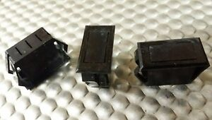Lot Of 3 Oem Bunn Coffee Brewer Parts 12921 0000 Switch Blank
