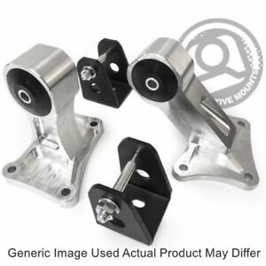 Innovative Mounts B90750 85a Billet Replacement Engine Mount Kit Grey 400 500hp