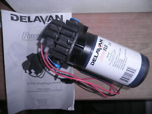 Delavan Powerflo 7812 201 Diaphragm Water Pump 12v 60 Psi 2 1 Gpm New
