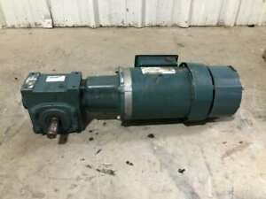 Dodge Tigear 2 20s15l Gear Drive speed Reducer W Brake 15 1 1hp 1725rpm 3ph
