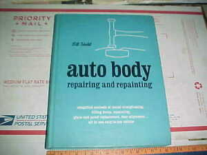 Vtg 1972 Auto Body Hb Book 34 Chapters 232 Pages Hammer Dolly Spoon Shop Tools
