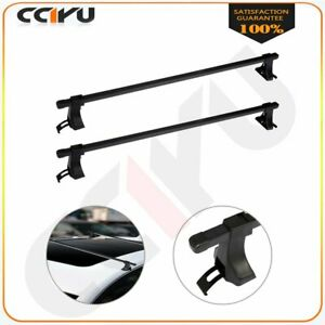 48 Universal Top Roof Rack Cross Bars Luggage For 4 Door Well Made Suv Truck