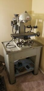 Benchmaster Mv1 Vertical Mill Milling Machine W Tooling Runs Smooth Made In Usa