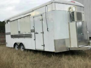 28 Food Concession Trailer With Commercial grade Kitchen Equipment For Sale In