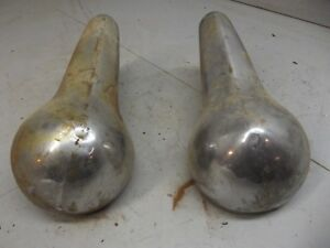 1951 1952 1953 Dodge Meadowbrook Bumper Guards Front Overriders Mopar