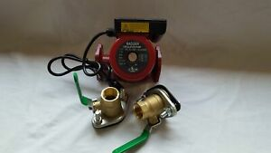 3 Speed Circulating Pump With Cord 34 Gpm With 2 1 Flanged Ball Valves