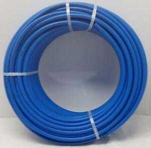1 2 1000 Coil Blue Certified Non barrier Pex Tubing Htg plbg potable Water