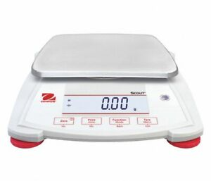 Ohaus Spx2202 Digital Lcd Compact Bench Scale 2200g Capacity 49wa14 New