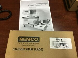 Nemco 566 2 Replacement Cartridge For Easy Tomato Slicer 2 Fits 1 4 Blade