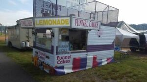 8 X 24 Used Carnival Food Concession Trailer For Sale In North Carolina