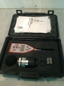 Quest Technologies Sound Level Meter 2200 W Calibrator Qc 10