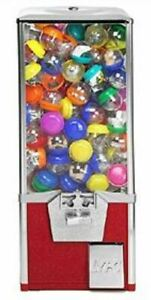 Token Acceptor 2 Capsule Toy Bulk Vending Machine 2 Inch Egg Superball Vendor