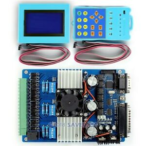 High Integrated 3axis Tb6600hg Stepping Motor Driver For Cnc Router Lathe 0 2 5a