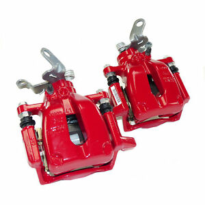 Rear Brake Calipers Pair 310mm Vw Golf Mk5 Mk6 Gti Scirocco R Audi A3 8p S3 Rs3