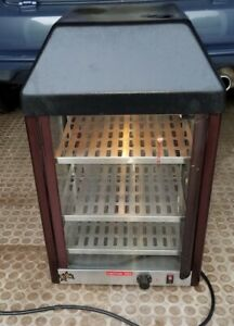 Star 15mcpt 3 Shelf 15 Countertop Heated Food Warmer Retail Display Glass Case