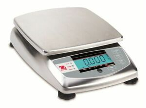 Ohaus Fd3 Food Portioning Scale 6 Lb X 0 001 Lb Nsf Listed