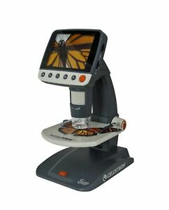 Celestron 5 Mp Infiniview Lcd Digital Microscope 44360 Fast Free Same Day Ship