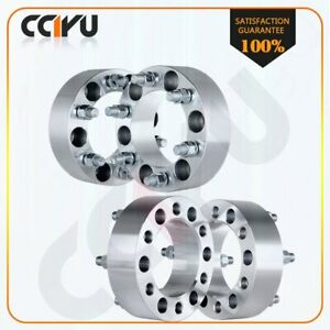4 2 Chevy 6 Lug Wheel Spacers Adapters For 2007 2013 Chevrolet Avalanche
