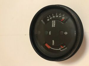 Porsche 911 Sc 911 Temp Druck And Oil Press Gauge 91164110303 1978 83 Date 9 77