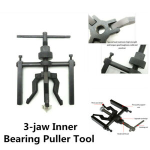 3 Jaw Inner Bearing Puller Gear Extractor Heavy Duty Automotive Machine Tool Kit
