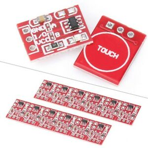 10x Ttp223 Capacitive Touch Switch Button Self lock Module Component Arduino