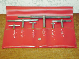 Starrett Telescope Gage Set No S579h 5 16 To 6 Inches