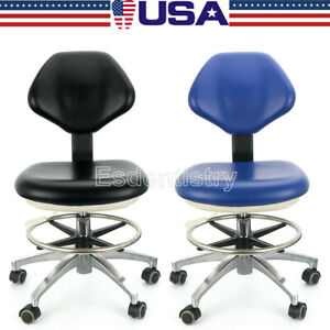 Usa Dental Dentist Stool Adjustable Height Mobile Chair Hydraulic Rolling Stools
