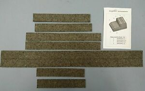 Ford Gpw And Willys Mb Fuel Tank Anti Squeak Felt Kit Self Adhesive