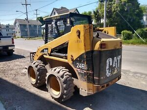 Cat 246b 2 Speed Travel Skid Steer Skidsteer Loader Bobcat