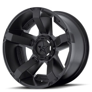 20x9 Black Xd811 Rockstar 2 Wheels Rims 2019 Dodge Ram 1500 Trucks 6x5 5 18mm