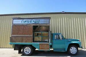 Vintage 1964 Solar Ford F 500 Wood Fired Pizza Truck For Sale In Idaho