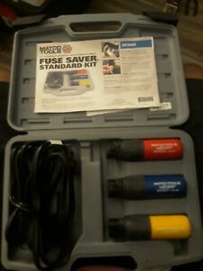 Matco Fuse Saver 10 15 20 Amp 10 Cable Case Instructions Mfs800